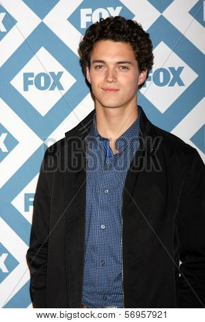 LOS ANGELES - JAN 13:  Connor Buckley at the FOX TCA Winter 2014 Party at Langham Huntington Hotel on January 13, 2014 in Pasadena, CA
