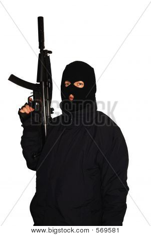 Terrorist Posing