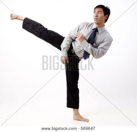 Karate-Kick