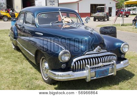 1947 Black Buick Eight Car