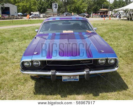 1970 Purple Dodge Challenger