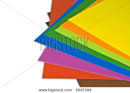 colorful Papier
