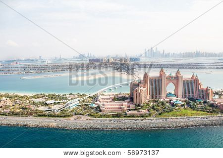 Dubai, Uae. Atlantis Hotel From Above