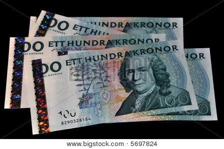 Five Notes Of Swedish Kronor