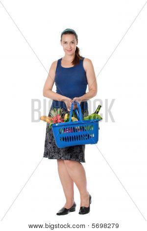 eine junge shopper