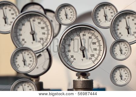 The Instrument For Measuring Pressure