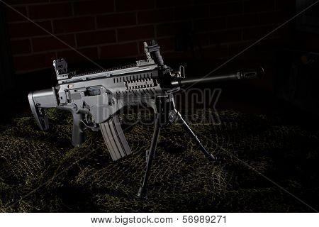 Railed Rifle