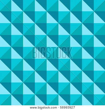 Abstract 3D Tapered Cube Pattern, vector