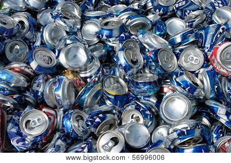 Cans Crushed