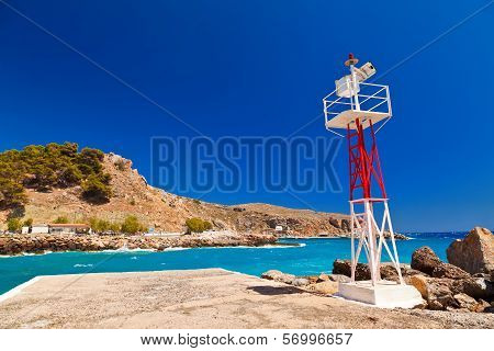 Lighthouse In Crete