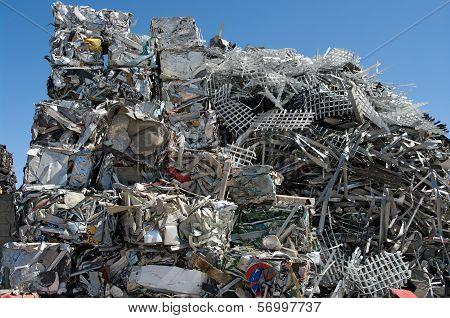 Stack Scrap Metal