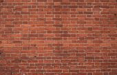 Weathered Red Brick Wall poster
