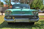 1958 Chevrolet Biscayne 4 Door Front View