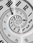 Постер, плакат: Spinning Clock