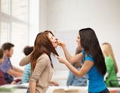 stock photo of stop fighting  - bullying - JPG