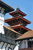 foto of nepali  - Traditional Nepali architecture - JPG