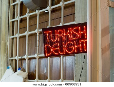 Turkish Delight Neon