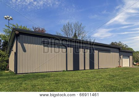 Large Metal Barn