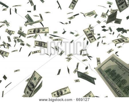Dinheiro caindo 2