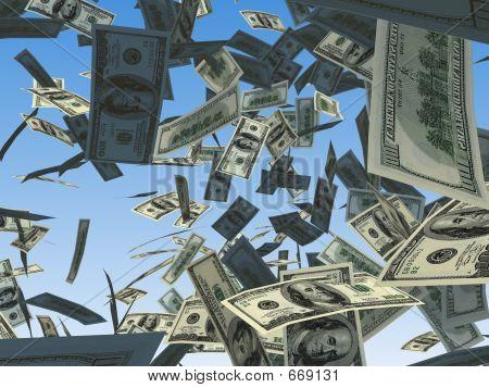 Dinheiro caindo 4