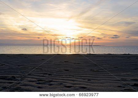 Provincetown Beach Sunset Evening Sky