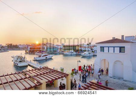 Limassol Marina, Cyprus