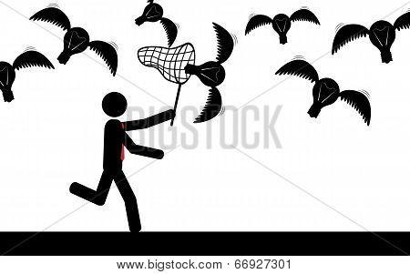 Catch the bulbs