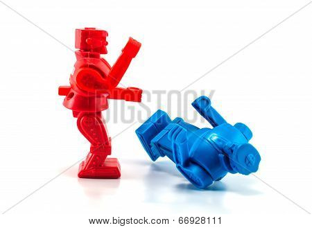 Robot Toy Knockout