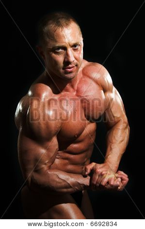 Man Bodybuilder
