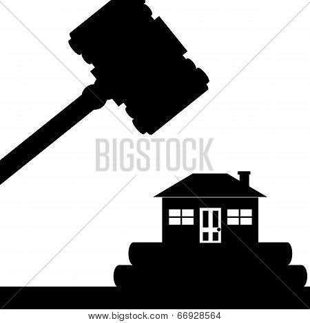 House in court