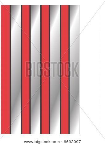 Papel pintado de rayas rojas