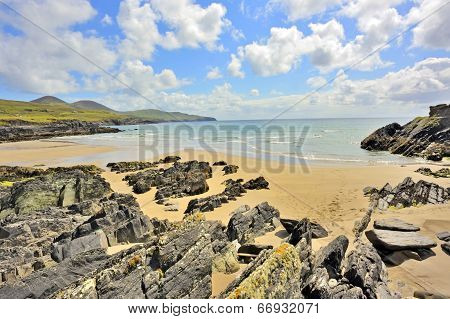 Atlantic Ocean Coastline In Ireland