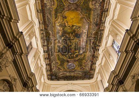 Madonna del Carmine church in Sorrento campania, Italy