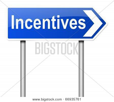 Incentives Concept.