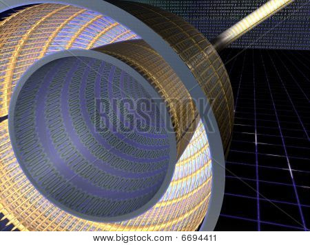 Abstract - Digital - Cable - 3D