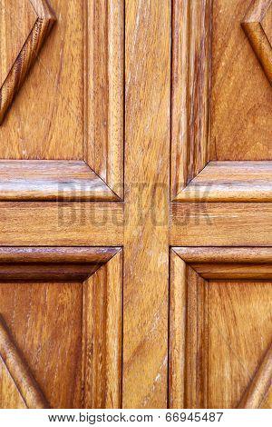 Abstract Door Lanzarote  Door In The Light Brown
