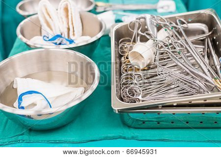 Surgical Instruments For Open Heart Surgery