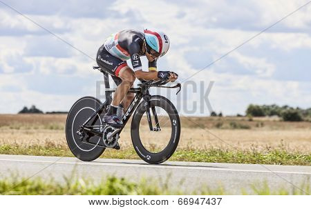 The Cyclist Maxime Monfort