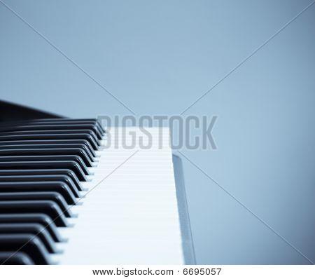 Keyboard Cool Tone