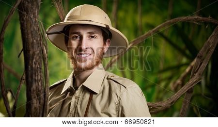 Young Smiling Explorer