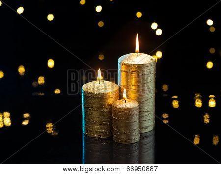 Three Golden Candles