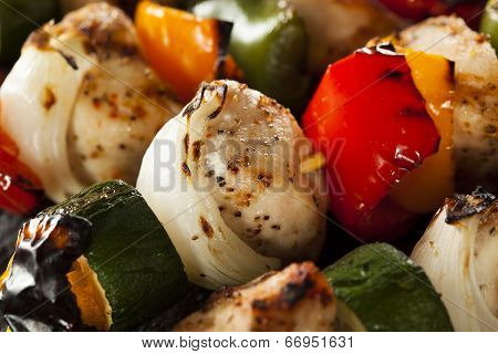 Homemade Chicken Shish Kabobs