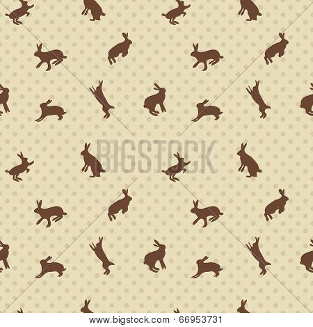Hare Rabbit Seamless Texture