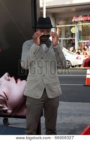 LOS ANGELES - JUN 17:  Nelsan Ellis at the HBO's