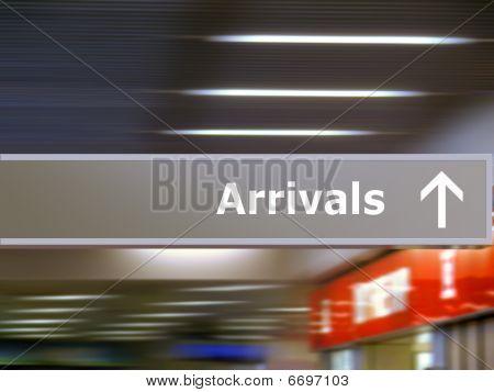 Tourist Info Signage Arrivals