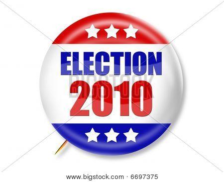 Election 2010 Button