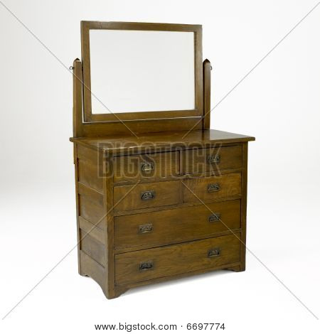 Mission Style Dresser