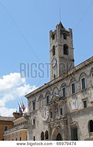 The Palazzo dei Capitani del Popolo (