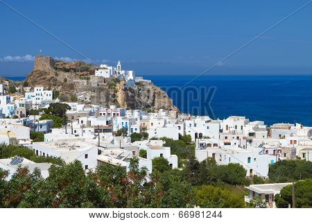 Nyssiros island in Greece