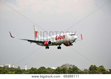 Lion Air airplane